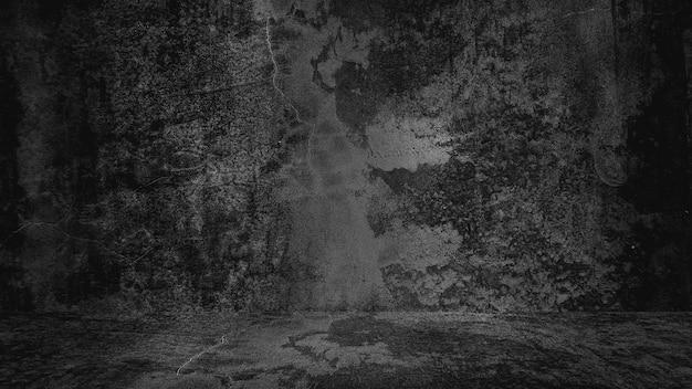 Fundo preto antigo. textura do grunge. quadro-negro. quadro-negro. concreto. Foto Premium