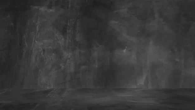 Fundo preto antigo. textura do grunge. quadro-negro. quadro-negro. concreto.