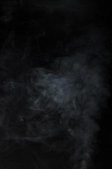 Fundo preto com efeito de fumaça