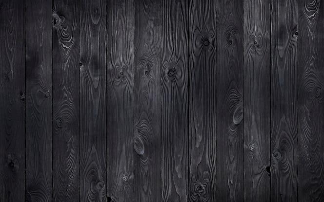 fundo preto de madeira