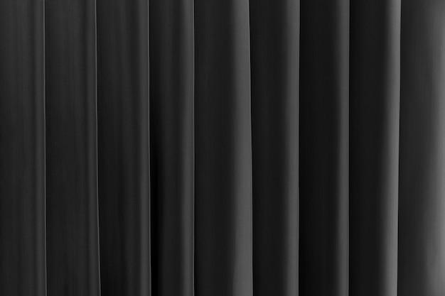 Fundo preto e branco abstrato. linhas e faixas verticais.