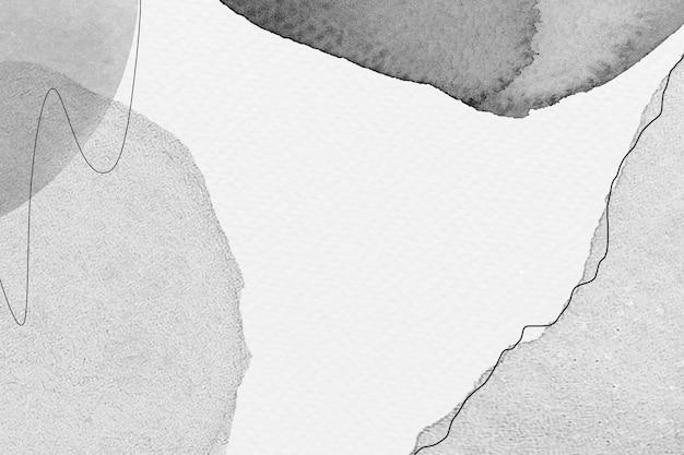 Fundo preto e branco com padrão memphis