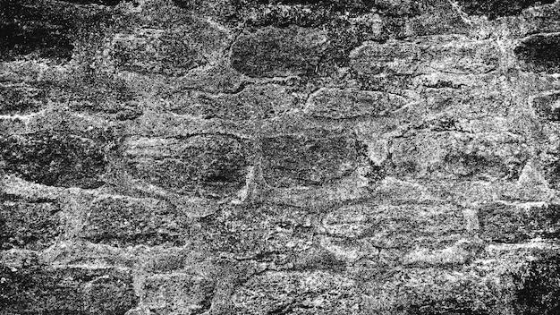 Fundo preto e branco da velha parede de pedra