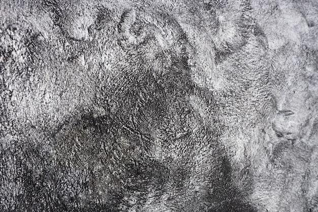 Fundo preto e branco de cimento