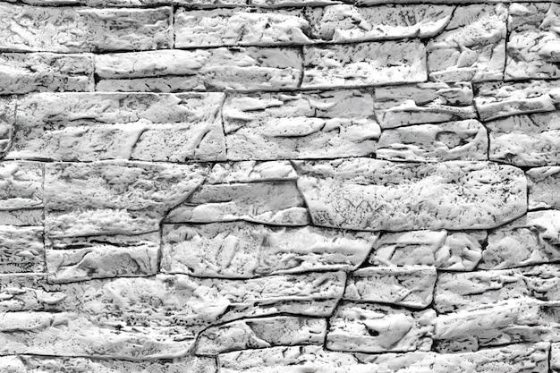 Fundo preto e branco moderno da textura da parede de pedra.