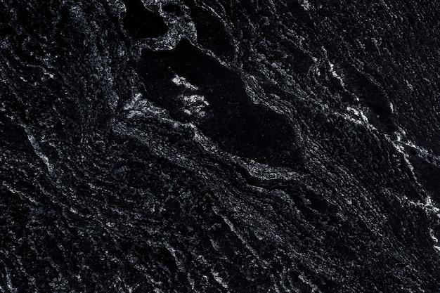 Fundo preto escuro com superfície áspera