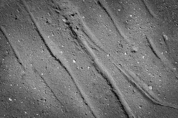 Fundo preto escuro de concreto asfáltico