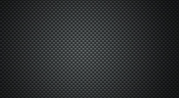 Fundo preto padrão de polígono