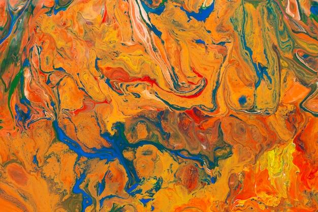 Fundo psicodélico multicolorido