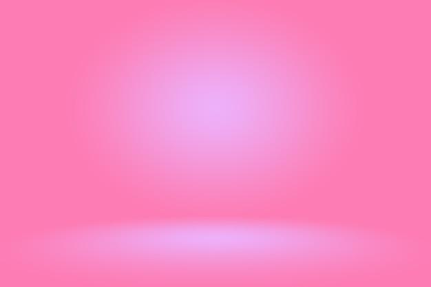 Fundo rosa abstrato projeto de layout dos namorados de natal, estúdio, sala, modelo da web, relatório de negócios com cor gradiente de círculo suave.