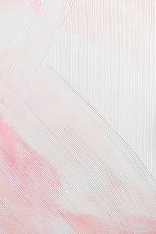 Fundo rosa com textura de pincelada Foto gratuita