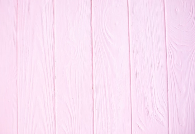 Fundo rosa de madeira. textura de madeira rosa com padrões naturais.