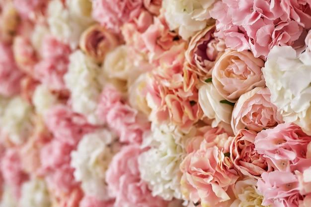 Fundo rosa flor