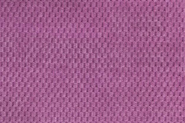 Fundo roxo de tecido felpudo macio closeup