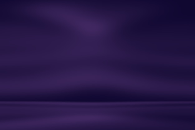 Fundo roxo gradiente de luz vazio abstrato