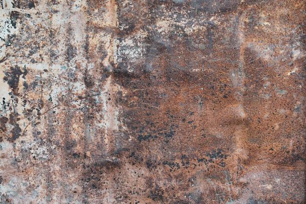 Fundo rústico do metal da textura do metal da oxidação para o contexto do projeto em objetos decorativos do conceito