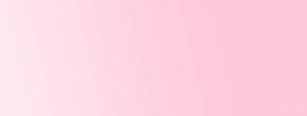 Fundo simples abstrato luz rosa gradiente banner