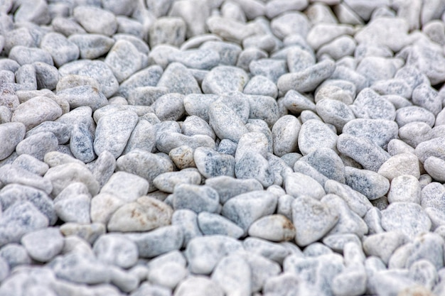 Fundo simples de pequenas pedras polidas