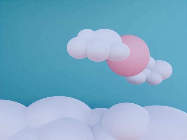 Fundo skyscape