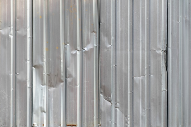 Fundo sujo da textura do material da folha de metal velha.