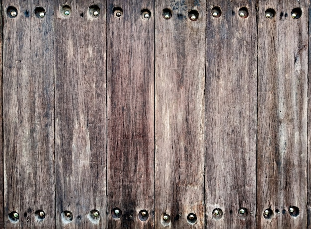 Fundo sujo marrom escuro de madeira