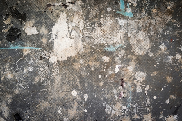 Fundo sujo sujo com arranhões e cores permaneceu