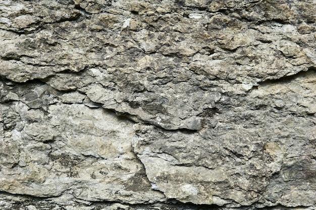 Fundo, textura - superfície de rocha calcária cinza áspera