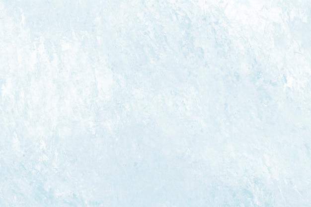 Fundo texturizado com pincelada de pintura em azul pastel abstrato