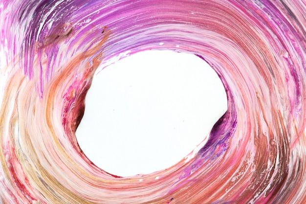 Fundo texturizado com pinceladas de tinta a óleo colorida