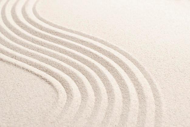 Fundo texturizado da natureza da onda de areia no conceito de bem-estar