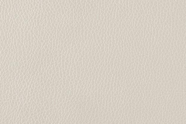 Fundo texturizado de couro fino branco