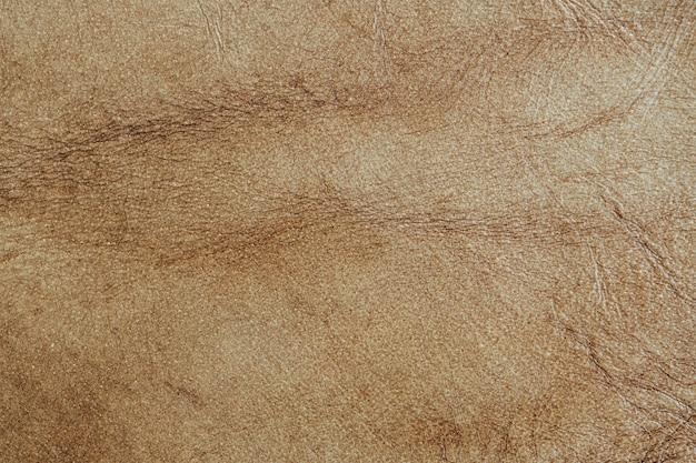 Fundo texturizado de couro marrom claro