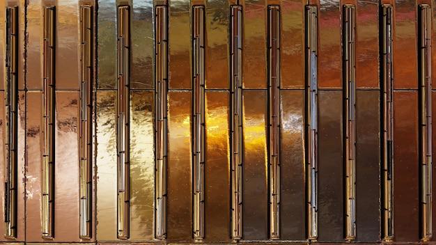 Fundo texturizado de listra metálica