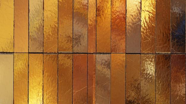 Fundo texturizado de madeira dourada