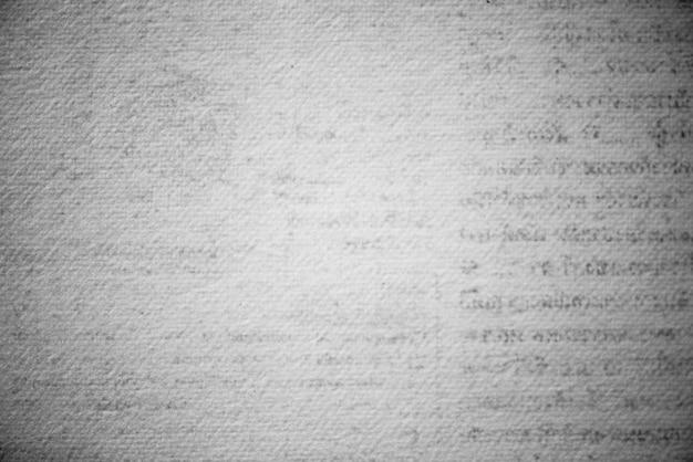 Fundo texturizado de página impressa em grunge
