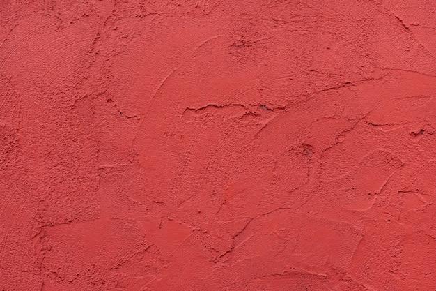 Fundo texturizado de parede vermelha