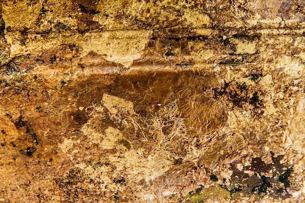 Fundo texturizado dourado enrugado