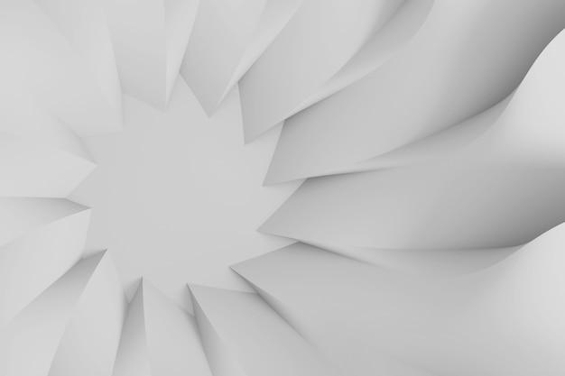 Fundo tridimensional paramétrico abstrato moderno