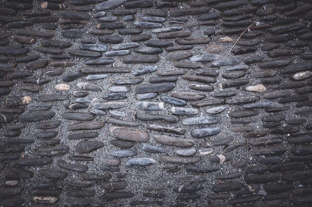 Fundo vazio de pedras pretas escuras. cores profundas e temperamentais
