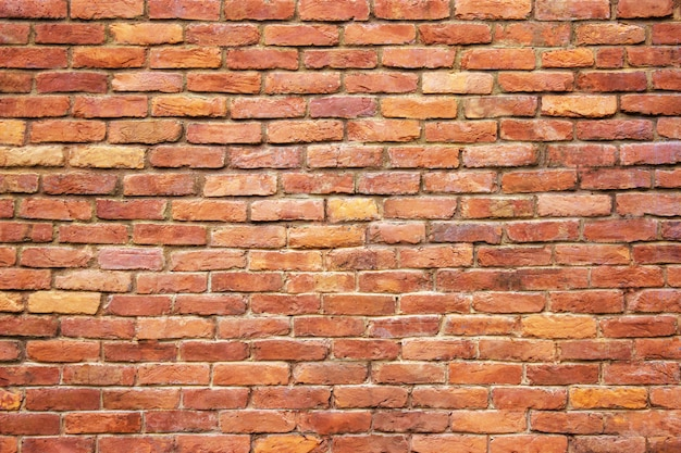 Fundo velho da alvenaria da textura urbana da parede de tijolo.