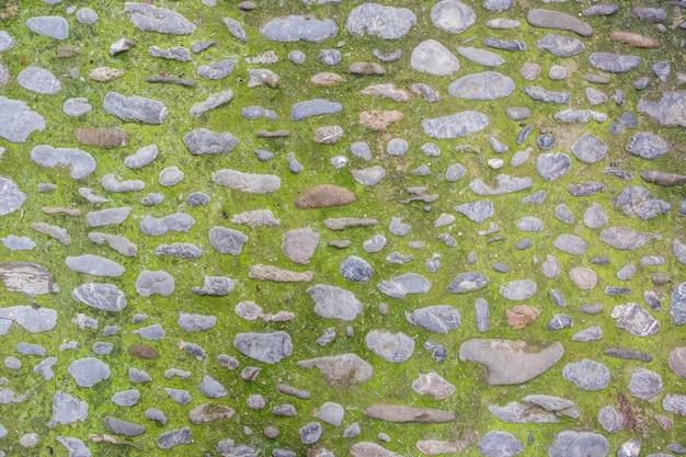 Fundo velho da textura da parede de pedra