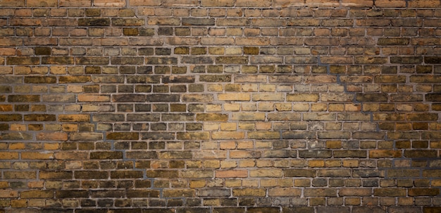 Fundo velho da textura da parede de tijolo.