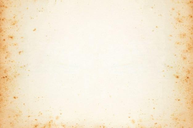 Fundo velho vazio da textura do papel marrom do vintage.