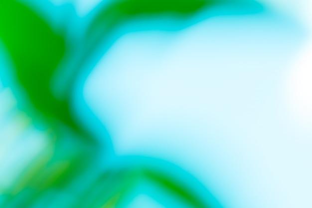 Fundo verde abstrato borrão de movimento