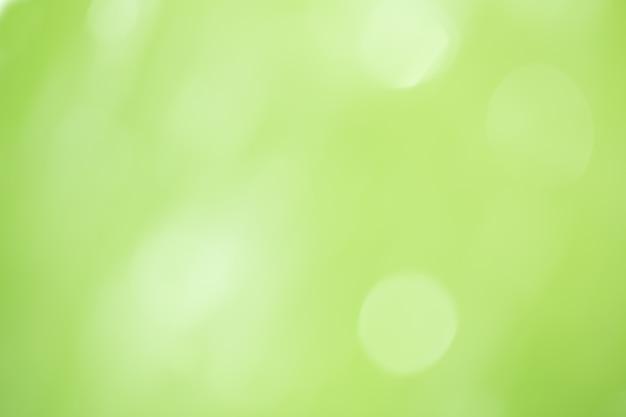 Fundo verde abstrato do bokeh.