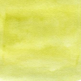 Fundo verde aquarela com pinceladas, pontos, manchas. ilustração desenhada à mão