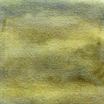 Fundo verde aquarela com pinceladas, pontos, manchas