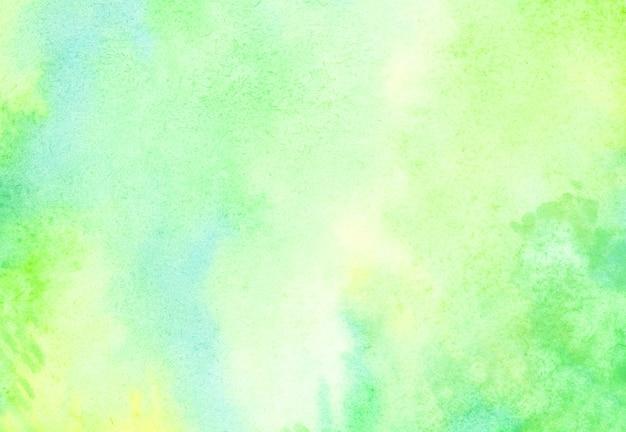 Fundo verde aquarela.