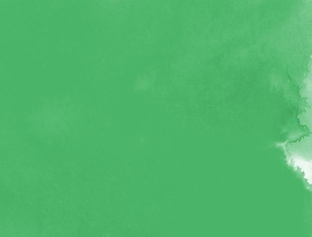 Fundo verde aquarela