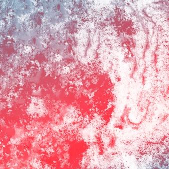 Fundo vermelho da bomba do banho de espuma do cuidado do corpo